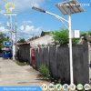 経済的なタイプ30W -120Wはエネルギー太陽LED街灯を保存する