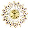 ホーム装飾のための孔雀の柱時計