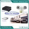 Real Time 3G GPS Mobile DVR Recorder Veículo Segurança PTZ Camera System for Police Car