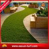 De waterdichte Openlucht Synthetische Groene Mat van het Tapijt van het Gras