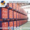 Única e do suporte prateleira dobro do armazém de armazenamento resistente