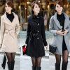 Пальто шерстей зимы женщин способа теплое (MU6641)