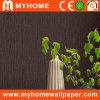 Papel de parede liso Wallcovering da cor com superfície do PVC