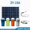 O diodo emissor de luz solar portátil ilumina cores de Zy-19A 4
