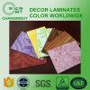 Gabinete de cocina/hojas laminadas/laminado de alta presión decorativo