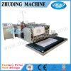 Découpage tissé de tissu de pp et machine à coudre