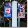 Печатание цифров улицы двойное бортовое вися знамя флага PVC & винила