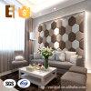 El panel de pared de cuero tridimensional directo de la PU de la fábrica de Suzhou