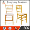 Gold Stacking Resin Chiavari Chair with Cushion (JC-ZJY76)