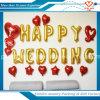 행복한 결혼식은 편지 포일 풍선을 공급한다