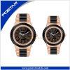 Нержавеющей стали wristwatch вахты пар вахта роскошной механически