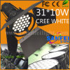 DMX 31*10W LEDのクリー語White Auto Car Show Light (SF-X02)