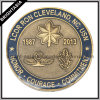 Custom Antique Gold Plating 3D Metal Medal (BYH-101098)