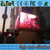 Letrero a todo color al aire libre del mensaje P10 que hace publicidad de la pantalla del LED