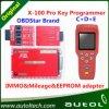 Neuester IMMO&Mileage&Eeprom Adapter X 100 PROschlüsselproselbstschlüsselschnelles Proverschiffen des programmierer-X100 des programmierer-X-100
