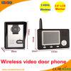 Teléfonos video sin hilos de la puerta de 3.5 pulgadas