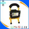 Proiettore ricaricabile Emergency esterno LED dell'indicatore luminoso di inondazione