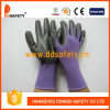 Лиловое Nylon с Black Nitrile Glove-Dnn810