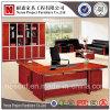 공장 가격 호화스러운 나무로 되는 단단한 나무 사무실 책상 (NS-SL037)