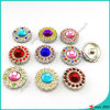 Shinny Stone Snap Buttons per Leather Bracelet Jewelry (B16041817)