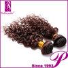 Dyeableの深く巻き毛の26インチのインドのRemyの毛の拡張