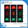 Signal-Ampel LED-Bycicle mit Timer