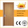 en el PVC de la venta puerta laminada del MDF con el bajo costo (SC-P017)