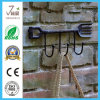 Gancho do metal do jardim de suspensão da parede do ferro de Lastest