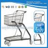 Het hete Boodschappenwagentje van het Karretje van de Mand van de Laag van de Verkoop Dubbele voor Supermarkt