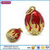 La manera caliente de la joyería de la aleación del estaño de la venta Eggs encanto # 17308