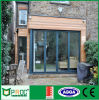 Porta de dobradura de vidro de alumínio do estilo europeu|Porta de dobradura do Bi com Flyscreen