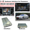 Interface van de Navigatie van de auto de Androïde voor Porsche-Macan, Cayennepeper, Panamera; De Navigatie van de Aanraking van de verbetering, WiFi, BT, Mirrorlink, HD 1080P