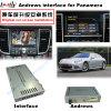Porsche Macan, 카이엔, Panamera를 위한 차 인조 인간 항법 영상 공용영역; 접촉 항법, WiFi, Bt, Mirrorlink, HD 1080P를 격상시키십시오