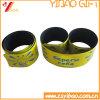 Wristband di schiaffo del silicone stampato abitudine di promozione (YB-SL-01)