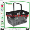 Mini Shopのための食料雑貨品店Retail Plastic Hand Shopping Basket