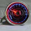 Contador de la revolución por minuto de la motocicleta LED para el velocímetro del tacómetro de Halay Universial