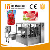 Nueva Estado de la bolsa de Premade Ketchup la máquina de embalaje