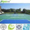 Pavimento esterno di plastica del campo da pallacanestro della costruzione del luogo di offerta