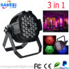 Hight Qualitty 36*3W Outdoor 3in1 LED PAR Light