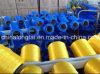 Fournisseur jaune rouge de tissage de filé de multifilament du bleu pp de corde