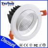 3 MAZORCA ahorro de energía ahuecada pulgada LED Downlight de PF>0.9 CRI>80