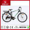 Electric di alluminio Bicycle con 36V Rear Rack Lithium Battery