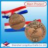 De Gietende Medaille van het brons voor Sport met Lint
