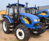 100HP 4WD Agriculture Wheel Tractor met Hydraulic Steering System