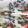 Hermosa flor digital gasa vestido de prendas de vestir de tela