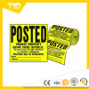Traffic Safety를 위한 롤 Banner Sign Reflective Label