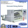 Automatic orizzontale Computer Control Slitting Rewinding Machine per Plastic Film