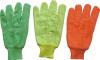 Hi Viz дневная красная перчатка работы хлопка--2104
