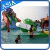 Heißer Sommer-aufblasbare riesige bewegliche Wasser-Park-Site, Inflatale Hinterhof-Wasser-Park