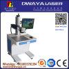 Máquina de la marca del laser de la fibra, marca del cuero/de la placa de identificación